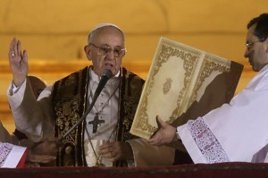 Papa Francesco in San Pietro