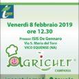 Si terrà Venerdì 8 Febbraio, presso l'Istituto Alberghiero De Gennaro di Vico Equense il food contest Agrichef, organizzato dalla Cia della Regione Campania e patrocinato dal Comune di Vico Equense. […]