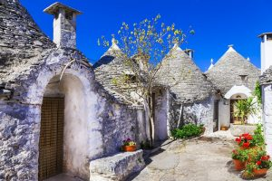 Unique Trulli houses with conical roofs in Alberobello, Italy, P; Shutterstock ID 290218835; PO: redownload; Job: redownload; Client: redownload; Other: redownload